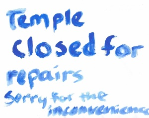 TempleClosed