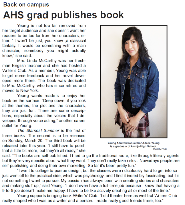Armijo SIgnal Feb 2016 Adelle Yeung interview2