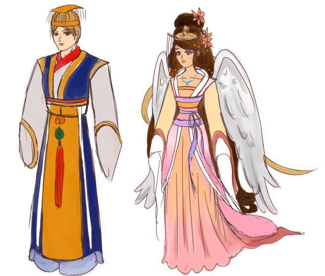 Ceremony of Crescent Starrs costumes