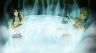 Hot Guys in a Hot Spring
