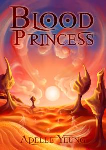 Blood Princess Mockup Cover