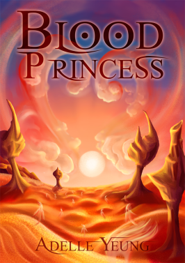 Blood Princess Mockup Cover